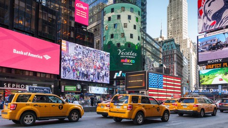 Times Square hums with life at the heart of Midtown Manhattan