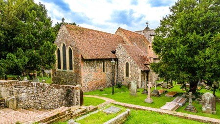 England's oldest buildings date as far back as 3000BCE