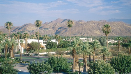 Palm Springs is a relaxing desert retreat with a mid-century vibe