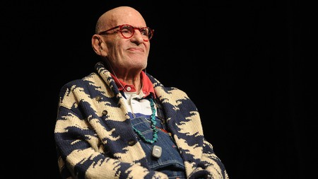 Playwright and activist Larry Kramer, pictured in 2016 in New York City