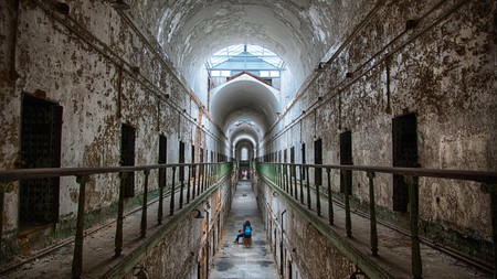 The old Eastern State Penitentiary is one spot that places Philadelphia among America's spookiest cities