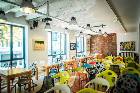 Loffice is located in the capital's trendy 7th district