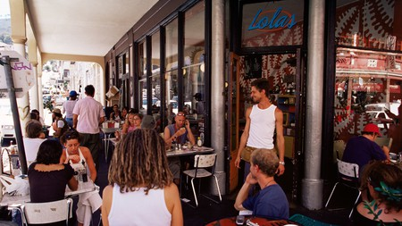 While Cape Town's Long Street is party central, it also has a thriving dining scene