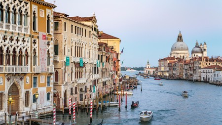 The Grand Canal in Venice, one of the world's most photogenic cities