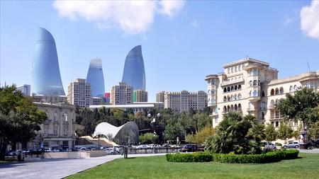 Baku in Azerbaijan has a dynamic art scene