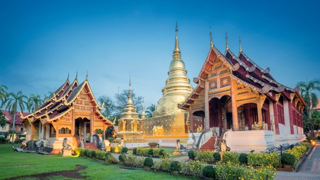 Wat Phra Singh is Chiang Mai's largest and grandest monastery