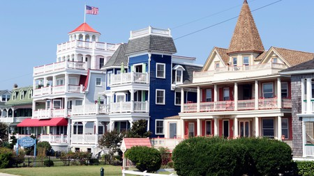 Enjoy picturesque architecture everywhere you look in Cape May, New Jersey