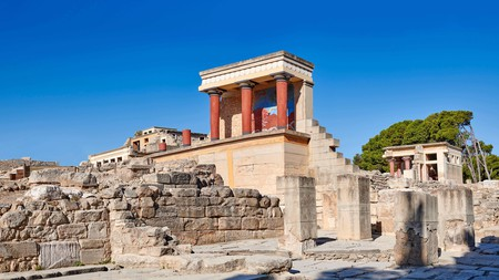 The archaeological site at Knossos is just one of the area's delights