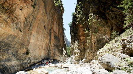 Hiking in Samariá Gorge is one of the more interesting things you can do in Crete