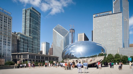 Stay within walking distance of Chicago's most iconic attraction
