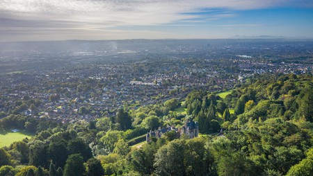 Take in sweeping views of Belfast atop Cave Hill Country Park