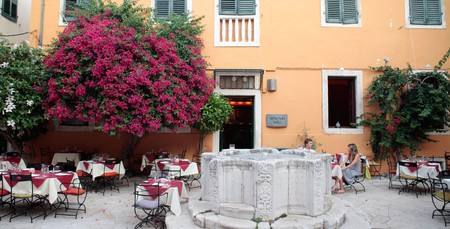 Try the unique cuisine on Corfu at one of its gourmet institutions or family tavernas