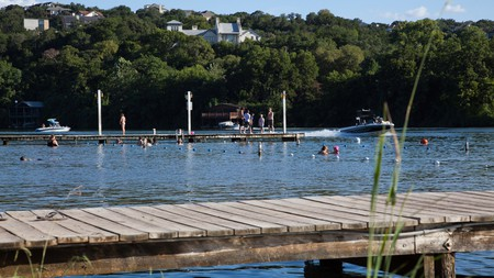 Cool off at one of Austin's lakeside spots in the summer