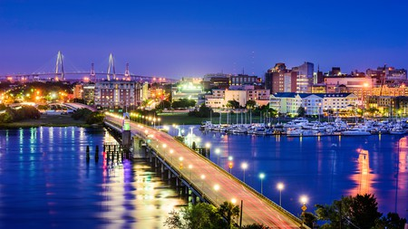 Explore the night-time delights of Charleston, SC