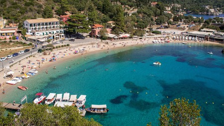 If you're after a beach holiday, Corfu's many beautiful bays have you well covered