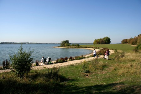 Grafham Water is among the largest reservoirs in England