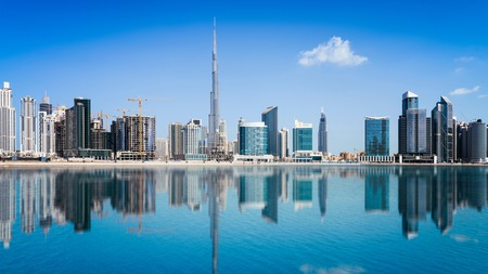 Dubai is a bustling metropolis with a traditional side