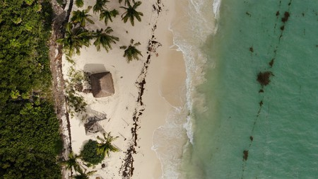 Cancun, in the Yucatan Peninsula, Mexico, is renowned for its glorious beaches