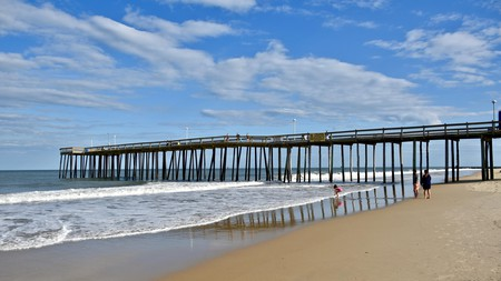 Philadelphia is in prime position between New Jersey and Delaware and has access to a wide variety of beaches