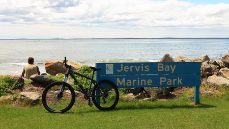 Jervis Bay is a favourite holiday destination a few hours south of Sydney