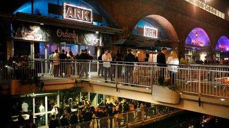 Manchester nightlife around Deansgate Lock, Manchester