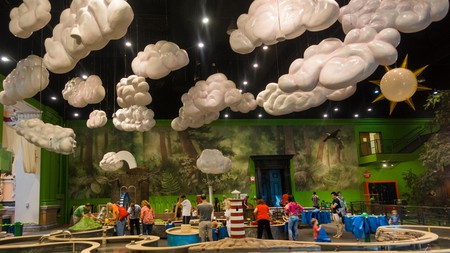 At the Please Touch Museum in Philadelphia, children are encouraged to interact with the exhibits