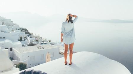 Santorini is a dream wellness destination