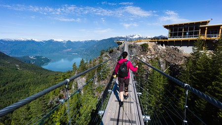 Squamish has a variety of hikes for all abilities