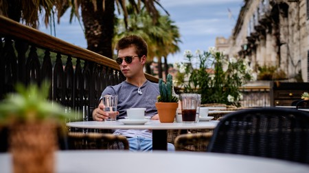 You're never too far away from a café in Split, Croatia