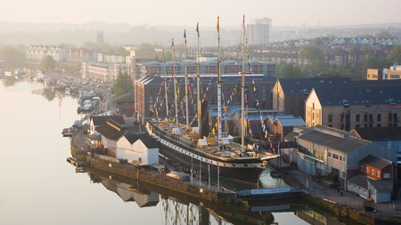 Bristol isn't short of historic attractions – among them, the SS Great Britain, which is dry-docked in Bristol Harbour