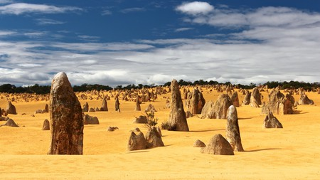 The Pinnacles are ideal for a day trip from Perth