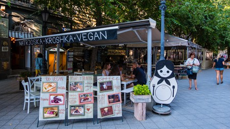 Budapest offers a wide variety of vegetarian and vegan eateries