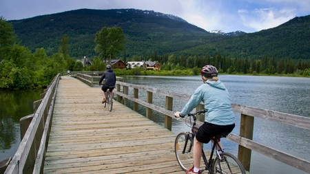 The entire family can get in on the outdoor fun in Whistler