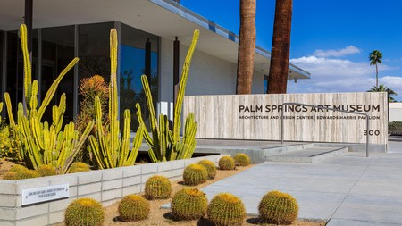 Parents and kids can get their creative juices flowing at the Palm Springs Art Museum