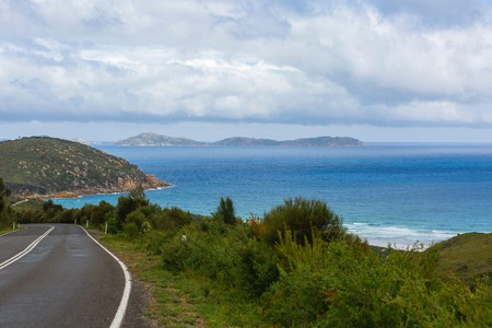 The Australian coastal road the Pacific Highway
