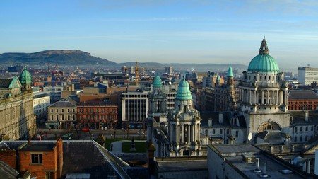 Not only is Belfast home to some great galleries, it also has some beautiful architecture