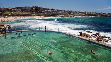 Do laps with an ocean view at one of Sydney's shoreside pools