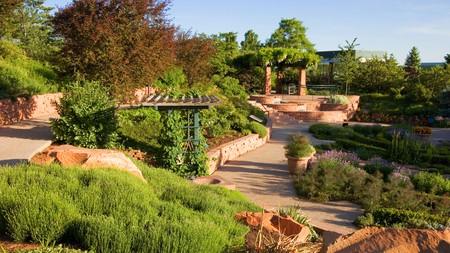 The fragrance garden at Red Butte Gardens, University of Utah