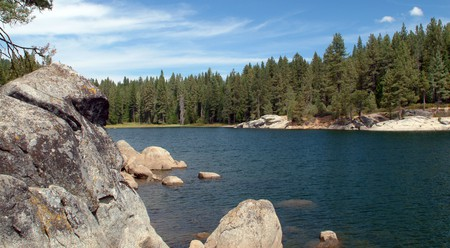 Shaver Lake offers the quintessential American summer lake experience, with watersports and stunning scenery