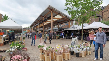 Manchester boasts a large array of farmers markets, health food stores and organic retailers