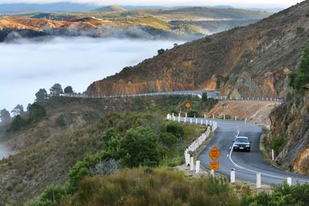 Queenstown Road in Tasmania