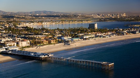 Pacific Beach is one of several popular beaches in and around San Diego
