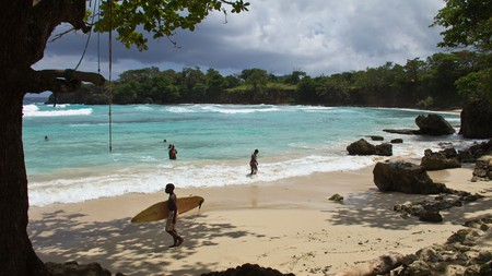 Jamaica's year-round warm waters make surfing an even more appealing prospect