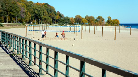 Bradford Beach in Milwaukee has an activity for everyone