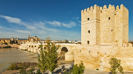 Córdoba's Calahorra Tower dates back to the 12th century and is now a museum