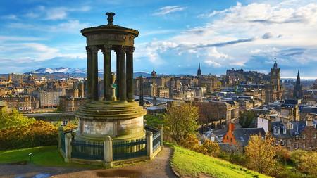 Great views of Edinburgh can be had on Calton Hill | © Paul Brown / Alamy Stock Photo