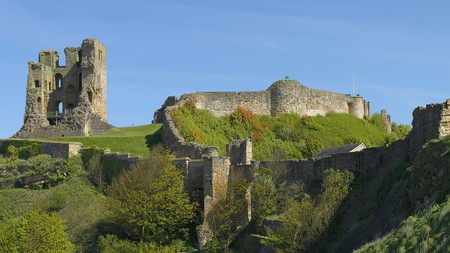 Scarborough Castle was built in the 12th century on the site of an Iron Age fort