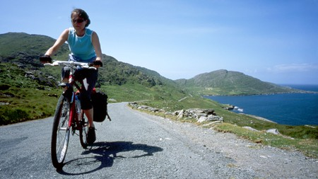 The Beara Way Cycling Route near Allihies, Beara Peninsula, County Cork