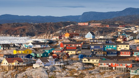 Ilulissat, in Greenland, is worth visiting for its icebergs, and the Northern Lights