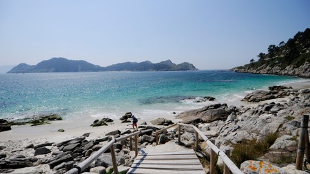 Galicia is home to some of the loveliest uncrowded and unspoilt beaches in Spain